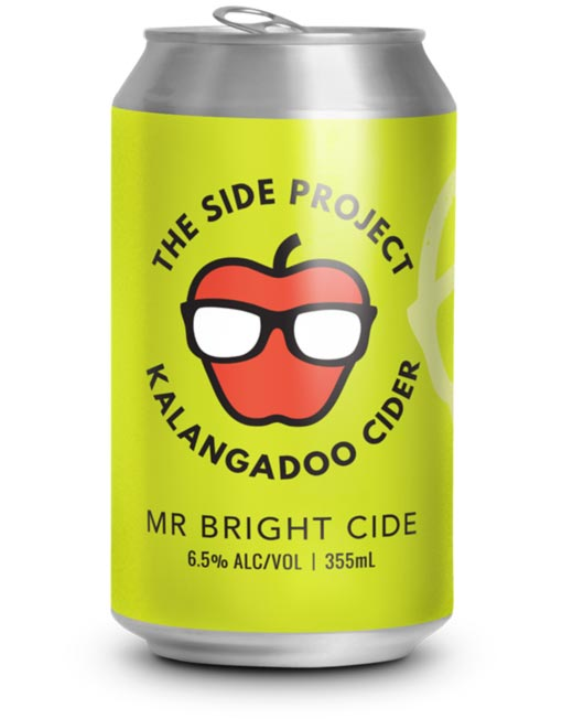 Mr Bight cide can cider