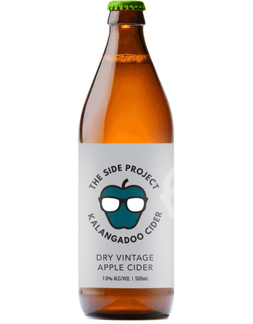 Dry Vintage Apple Cider - The Side Project Kalanagadoo